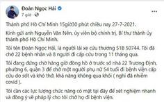 Quận 3 lên tiếng về thông tin trên Facebook Đoàn Ngọc Hải