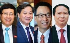 Quốc hội phê chuẩn 4 phó thủ tướng và 22 thành viên Chính phủ nhiệm kỳ mới