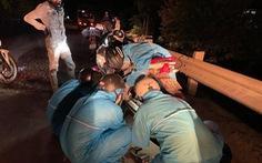 Xuyên ngày đêm bám chốt ở Đà Nẵng cứu hộ xe cho người từ TP.HCM về quê