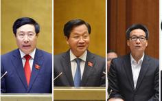 4 phó thủ tướng đương nhiệm được trình để phê chuẩn nhiệm kỳ mới