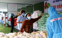 Bộ đội Quân khu 9 tổ chức phiên chợ 0 đồng hỗ trợ bà con trong giãn cách
