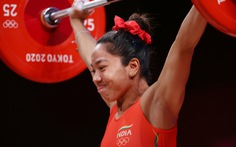 Giành HCB Olympic, Mirabai Chanu được ăn pizza và xem phim miễn phí cả đời