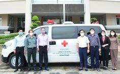 TP Thủ Đức tiếp nhận xe cứu thương từ doanh nghiệp