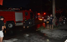 Ngắt điện chung cư vì có cháy, 2 người bị kẹt trong thang máy