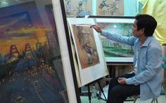 Dạo quanh Showbiz | Tình người những ngày giãn cách qua tranh của Lê Sa Long