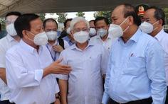 Chủ tịch nước: Bình Dương cần sớm vận hành khu điều trị dã chiến 5.000 giường
