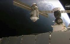 ISS trục trặc sau khi kết nối thành công module của Nga