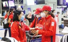 Một nửa đoàn thể thao Việt Nam tham dự Olympic Tokyo 2020 lên đường về nước