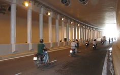 Lần lượt cấm xe từng chiều hầm đường bộ Kim Liên trong 1 tháng để sửa chữa