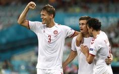 Thắng CH Czech 2-1, Đan Mạch vào bán kết Euro 2020