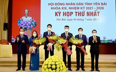 Ông Trần Huy Tuấn tái đắc cử chủ tịch UBND tỉnh Yên Bái