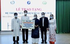 Công ty Golf Long Thành trao tặng hệ thống máy xét nghiệm COVID-19 trị giá 5 tỉ cho tỉnh Đồng Nai
