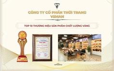 VSMan vào Top 10 Sản phẩm vàng - Dịch vụ vàng VN 2021
