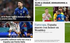'Tây Ban Nha thất bại trong danh dự ở Wembley'