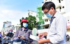 Người dân đi trong TP.HCM không bị kiểm tra giấy xét nghiệm COVID-19
