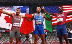 VĐV Ý vô địch nội dung chạy 100m tại Olympic 2020