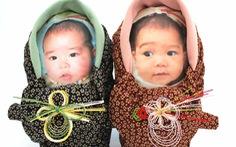 Ấn tượng những 'bao gạo em bé' tại Nhật Bản