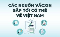 Sắp tới có bao nhiêu vắc xin về Việt Nam?
