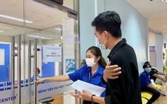 Hơn 10.000 sinh viên TP.HCM đã được tiêm vắc xin COVID-19