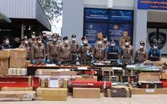 Thái Lan bắt băng nhóm bán 3.500 khẩu súng qua mạng