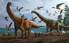 Trung Quốc từng có khủng long khổng lồ dài hơn 20 mét