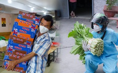 'Hiệp sĩ' Trần Văn Hoàng rong ruổi tặng quà cho bà con lao động nghèo