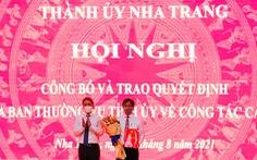Điều động công tác bí thư Thành ủy và một phó chủ tịch UBND TP Nha Trang