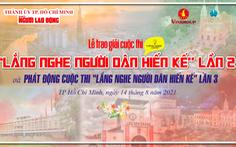 Báo Người Lao Động vinh danh 6 ý tưởng đoạt giải cuộc thi 'Lắng nghe người dân hiến kế' lần 2