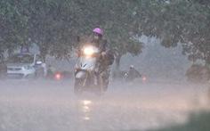 Nhiều nơi trên cả nước có mưa lớn vào chiều tối và đêm 3-9