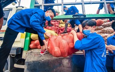 Nối tiếp Bắc Giang, nông sản từ Lào Cai, Vĩnh Phúc, Phú Thọ về tiếp sức thủ đô