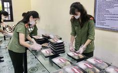 Công an Thái Bình triển khai 'bữa cơm mang hương vị gia đình' tại tuyến đầu chống dịch