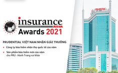 Prudential Việt Nam thắng lớn tại Insurance Asia Awards 2021