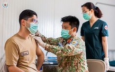 Bệnh viện dã chiến 2.3 hỗ trợ tiêm chủng vắc xin COVID-19 tại Nam Sudan