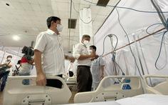 Trung tâm triển lãm và hội chợ Tân Bình thành bệnh viện dã chiến 3 tầng, quy mô 1.000 giường