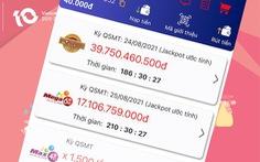 Vietlott quay số mở thưởng trở lại các sản phẩm xổ số tự chọn