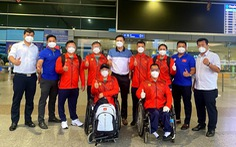 Đoàn thể thao người khuyết tật Việt Nam lên đường tham dự Paralympic Tokyo 2020