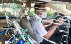 TP.HCM huy động tài xế, xe trung tâm đào tạo và sát hạch hỗ trợ chống dịch