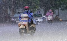 Tây Nguyên, Nam Bộ có mưa lớn