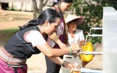 Giải 'cơn khát' nước sạch cho đồng bào Tây Nguyên