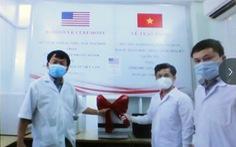 Hoa Kỳ tặng Phú Yên máy xét nghiệm Realtime RT-PCR