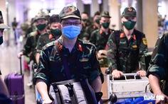 5 chuyến bay đầu tiên chở quân nhân từ Hà Nội đến TP.HCM chống dịch