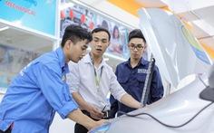 Loạt giảng đường thú vị của sinh viên Công nghệ kỹ thuật ô tô HUTECH