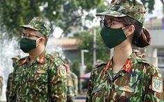 CẬP NHẬT: Các lực lượng xuất quân đi TP.HCM hỗ trợ chống dịch