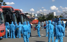 Cần Thơ đón hơn 300 người dân từ TP.HCM về quê