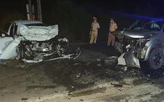 Chánh văn phòng huyện ủy tử vong trong vụ xe con đấu đầu xe bán tải