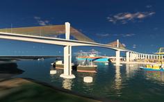 Đề xuất thẩm định dự án cầu Phước An vượt sông Thị Vải gần 4.900 tỉ đồng