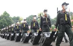Trung đoàn Cảnh sát cơ động Tây Nguyên chi viện cho Bà Rịa - Vũng Tàu chống dịch
