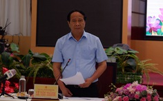 Phó thủ tướng Lê Văn Thành: 'Chậm một ngày triển khai công tác chống dịch chậm một tuần'