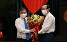 Ông Nguyễn Thành Phong chia sẻ 'rất áy náy khi rời TP.HCM lúc này'