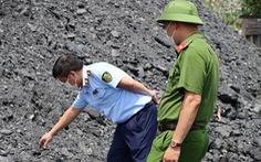 Phát hiện bãi than đá quy mô lớn không rõ nguồn gốc